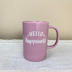Threshold Dining - Threshold Hello Happiness Pink Coffee Tea Mug